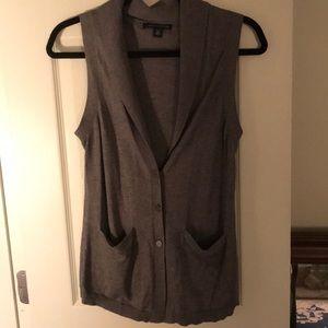 Banana republic grey sweater vest